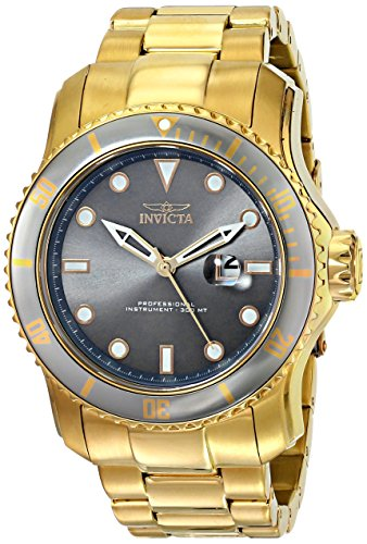 "インビクタ 時計 インヴィクタ メンズ 腕時計 Invicta Men""s 15353 Pro Diver Analog Display Japanese Quartz Gold Watch"