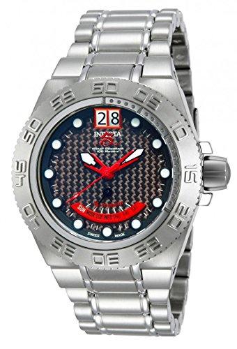 インビクタ 時計 インヴィクタ メンズ 腕時計 Invicta Mens Midsize Subaqua Sport Swiss Made Day Retrograde Stainless Steel Watch 10886