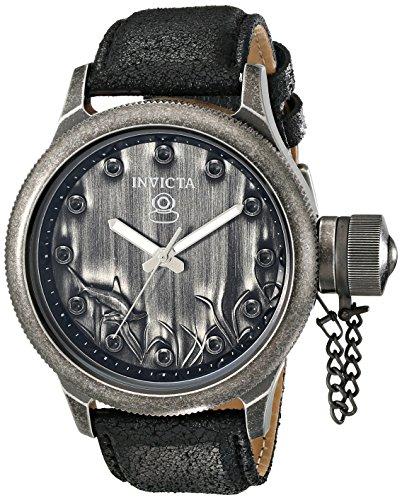"""インビクタ 時計 インヴィクタ メンズ 腕時計 Invicta Men""""s 17167 Russian Diver Analog Display Japanese Quartz Black Watch"""