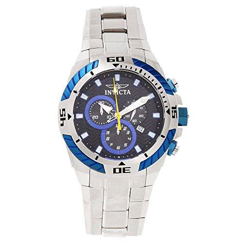 インビクタ 時計 インヴィクタ メンズ 腕時計 Invicta Pro Diver Chronograph Black Dial Stainless Steel Mens Watch 16065