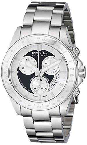 インビクタ 時計 インヴィクタ メンズ 腕時計 Invicta Men's 17194 Speedway Analog Display Swiss Quartz Silver Watch