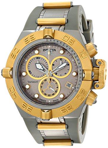 """インビクタ 時計 インヴィクタ メンズ 腕時計 Invicta Men""""s 17208 Subaqua Analog Display Swiss Quartz Grey Watch"""