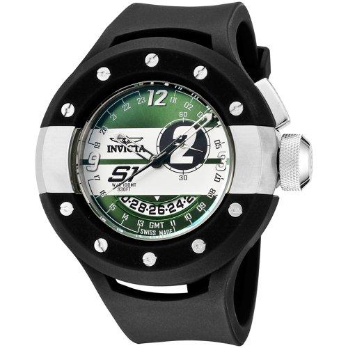 """インビクタ 時計 インヴィクタ メンズ 腕時計 Invicta Men""""s 6637 S1 Collection GMT Black Rubber Watch"""