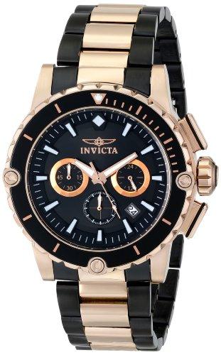 """インビクタ 時計 インヴィクタ メンズ 腕時計 Invicta Men""""s 15403 Pro Diver Analog Display Japanese Quartz Two Tone Watch"""