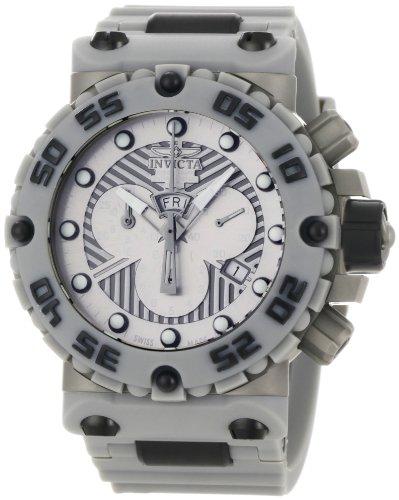 インビクタ 時計 インヴィクタ メンズ 腕時計 Invicta Men's 0657 Subaqua Collection Nitro Chronograph Grey Polyurethane Watch
