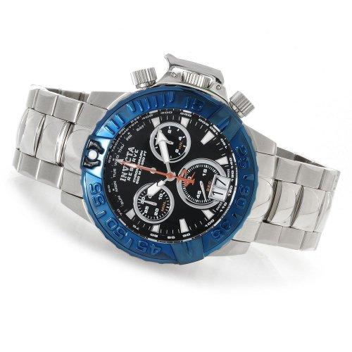 インビクタ 時計 インヴィクタ メンズ 腕時計 Invicta Mens Reserve Subaqua Noma II Swiss Tachymeter Chronograph Stainless Steel Watch 80339