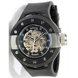 インビクタ 時計 インヴィクタ メンズ 腕時計 Invicta S1 Rally Skeleton Dial Black Rubber Mens Watch 0869