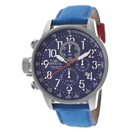 "インビクタ 時計 インヴィクタ メンズ 腕時計 Invicta Men""s 12074 Force Chronograph Blue Dial Blue Rifle Fabric Watch"