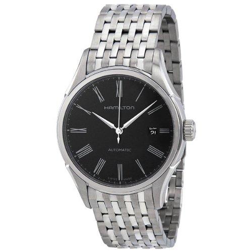 ハミルトン メンズ 腕時計 Hamillton Valiant Black Dial Stainless Steel Mens Watch H39515134