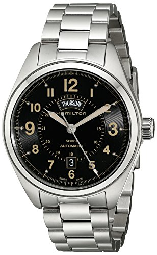 "ハミルトン カーキ メンズ 腕時計 Hamilton Men""s H70505933 Khaki Field Analog Display Automatic Self Wind Silver Watch"