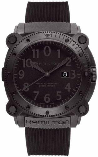 ハミルトン カーキ メンズ 腕時計 Hamilton Khaki Belowzero Auto Mens Watch H78585333 通勤 新学期 防災 金婚式 年末年始のご挨拶 音楽会