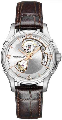 """ハミルトン メンズ 腕時計 Hamilton Men""""s H32565555 Open Heart Watch"""
