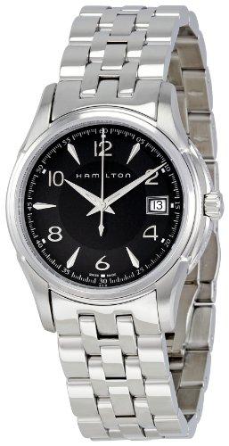 """ハミルトン ジャズマスター レディース 腕時計 Hamilton Women""""s H32311135 Jazzmaster Black Dial Watch"""