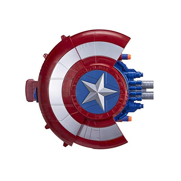 キャプテンアメリカ ナーフ おもちゃ シールド 盾 Marvel Captain America Blaster Reveal Shield