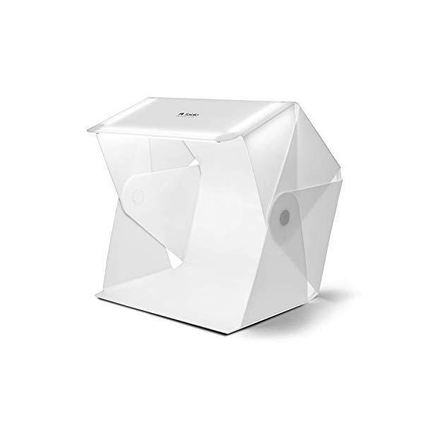フォルディオ3 撮影ボックス 撮影キット コンパクト 卓上写真 スタジオ 出品撮影 オールインワン 25インチ(約63.5cm) ヤフオク出品 メルカリ出品 ラクマ出品 foldio3 (25
