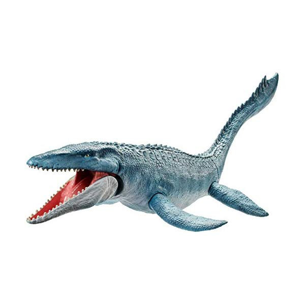 ジュラシックワールド 炎の王国 恐竜 モササウルス アクション フィギュア 人形 おもちゃ Jurassic World Real Feel Mosasaurus