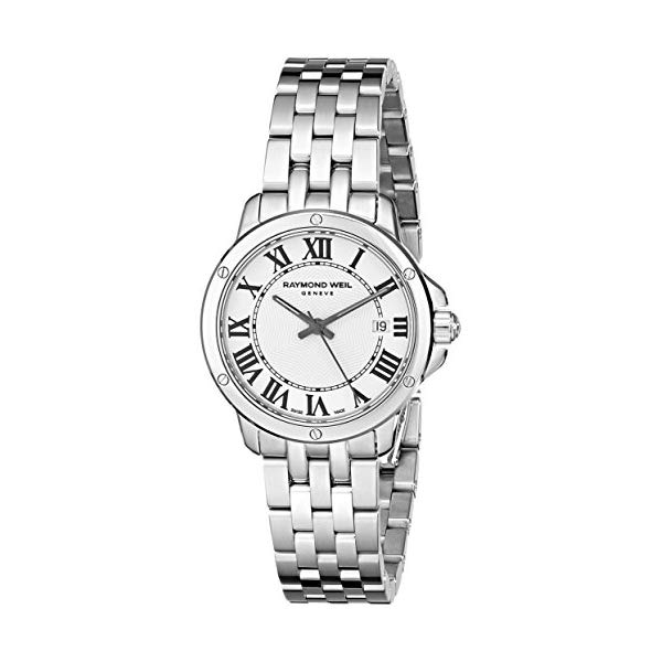 レイモンドウィル レディース 腕時計 Raymond Weil Women's 5391-ST-00300 Tango Analog Display Swiss Quartz Silver Watch
