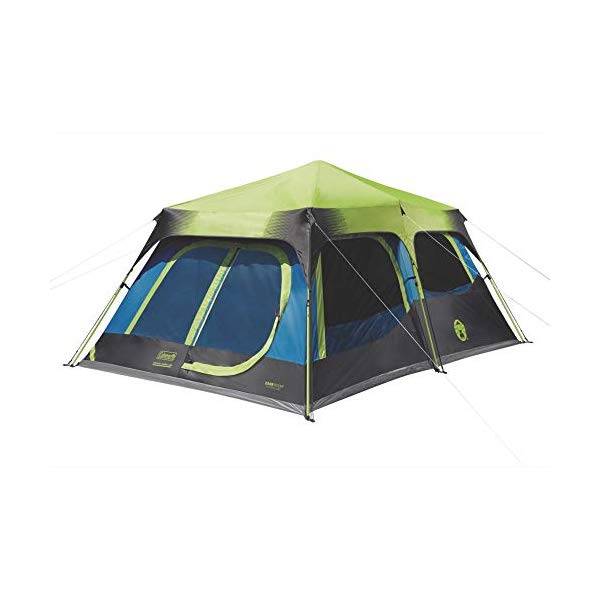 コールマン 10人用 インスタントテント Coleman Cabin Tent with Instant Setup | Cabin Tent for Camping Sets Up in 60 Seconds