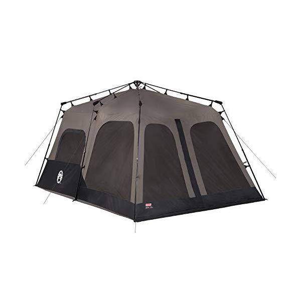 コールマン 8人用 インスタントテント ブラウン Coleman 8-Person Tent | Instant Family Tent