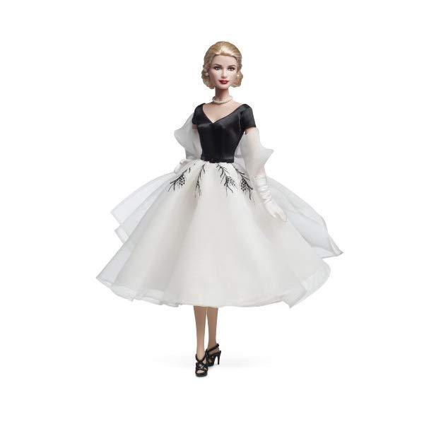 バービー コレクターリアウィンドウ グレイスケリードール フィギュア Barbie Collector Rear Window Grace Kelly Doll