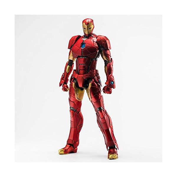 アイアンマン フィギュア 人形 マーベル 千値練 センチネル  アイアンマン フィギュア 人形 マーベル 千値練 センチネル Iron Man RE:Edit 08 Shape Changing Armor Action Figure Marvel Now
