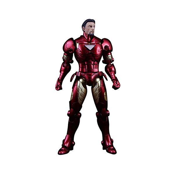 アイアンマン フィギュア 人形 マーベル 千値練 センチネル Sentinel Armorize Iron Man Metallic Exclusive Action Figure Marvel