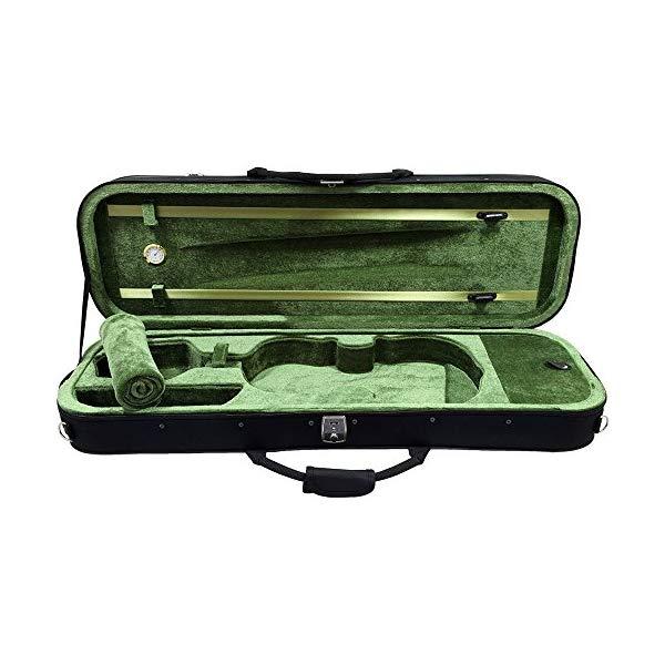 上品 スカイ バイオリン オブロング ハードケース ヴァイオリン 4 フルサイズ プロフェッショナル シェイプ ライトウェイト 湿度計 SKY Oblong Hygrometer Size Case Professional Violin Shape Lighweight with Full Hard 高品質新品