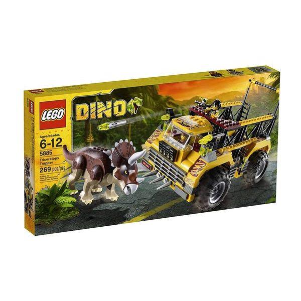 レゴ トリケラトプス・トラッパー LEGO Dino Triceratops Trapper 5885