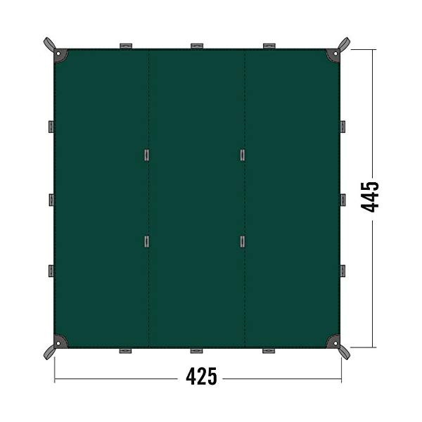 タトンカ タープ Tatonka solar panel Tarp 1