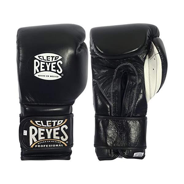 クレト・レイエス ボクシンググローブ Cleto Reyes Hook & Loop Training Gloves ブラック 12オンス