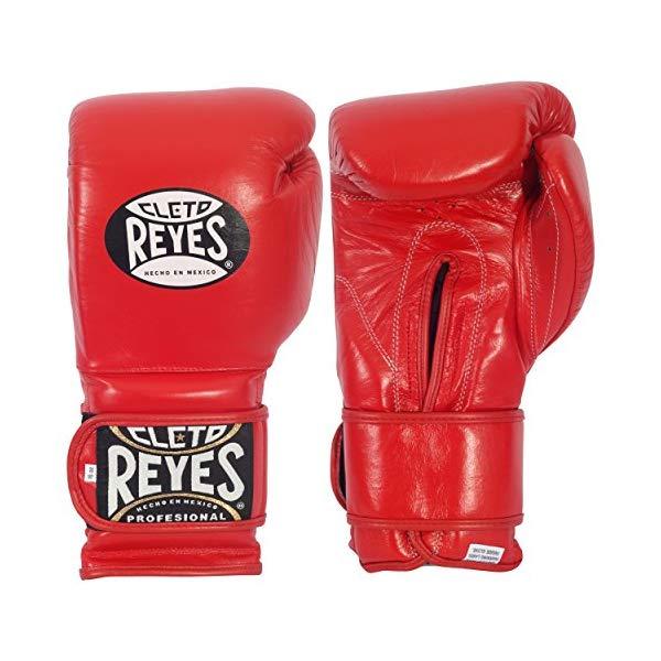 クレト・レイエス ボクシンググローブ Cleto Reyes Hook & Loop Training Gloves レッド 16オンス