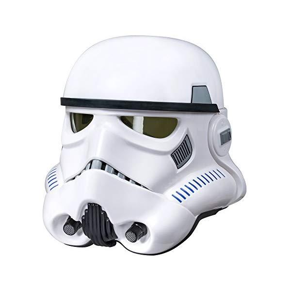 スターウォーズ ヘルメット ストームトルーパー グッズ コレクター Star Wars The Black Series Rogue One: A Star Wars Story Imperial Stormtrooper Electronic Voice Changer Helmet