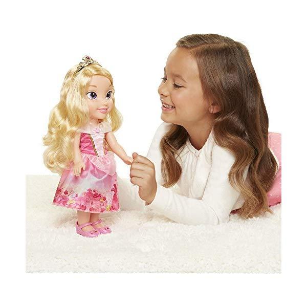 ディズニープリンセス オーロラ姫 眠れる森の美女 ドール 人形 フィギュア キッズ 子供 トドラー グッズ おもちゃ Disney Princess Explore Your World Aurora Doll Large Toddler