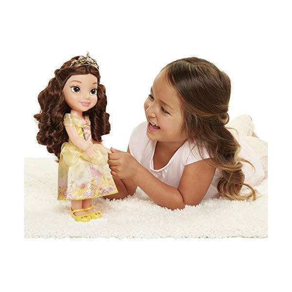 ディズニープリンセス ベル 美女と野獣 ドール 人形 フィギュア キッズ 子供 トドラー グッズ おもちゃ Disney Princess Explore Your World Belle Doll Large Toddler