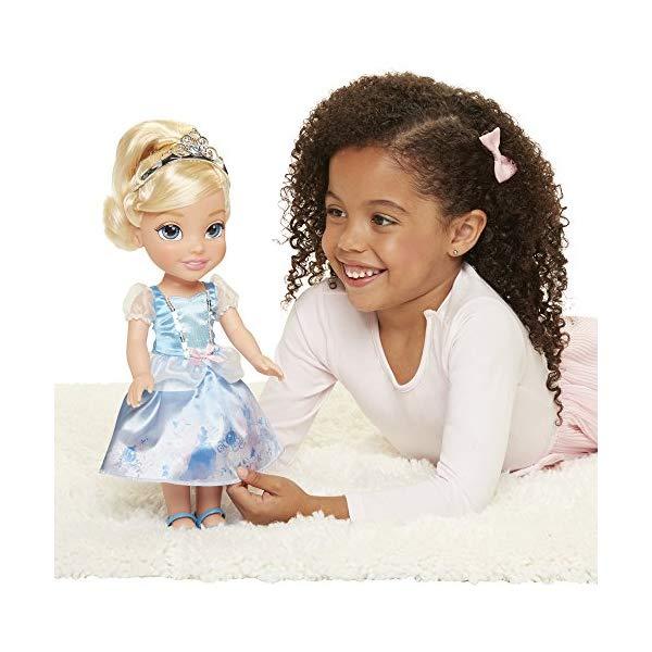 ディズニープリンセス シンデレラ ドール 人形 フィギュア キッズ 子供 トドラー グッズ おもちゃ Disney Princess Explore Your World Cinderella Doll Large Toddler