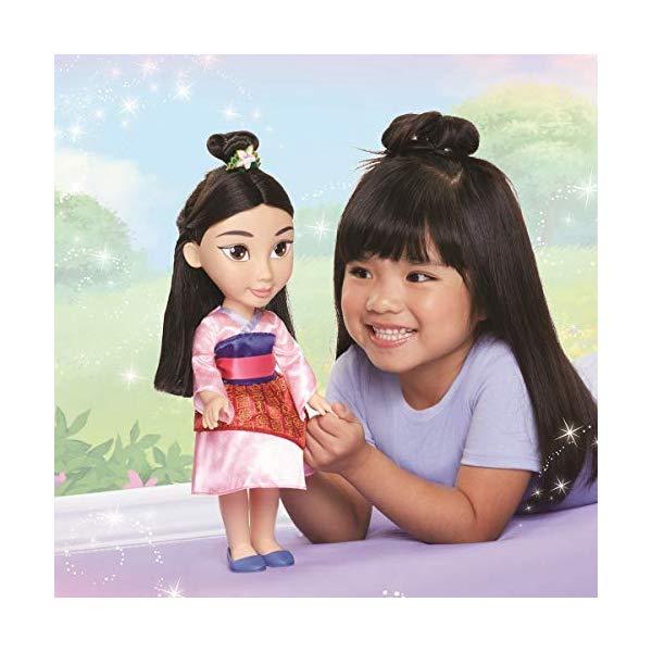 ディズニープリンセス ムーラン ドール 人形 フィギュア キッズ 子供 トドラー グッズ おもちゃ Disney Princess Mulan Toddler Doll