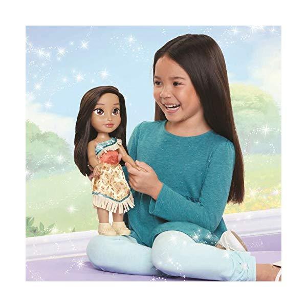 ディズニープリンセス モアナ ドール 人形 フィギュア キッズ 子供 トドラー グッズ おもちゃ Disney Princess Pocahontas Toddler Doll
