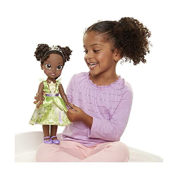 ディズニープリンセス ティアナ プリンセスと魔法のキス ドール 人形 フィギュア キッズ 子供 トドラー グッズ おもちゃ Disney Princess Explore Your World Tiana Doll Large Toddler