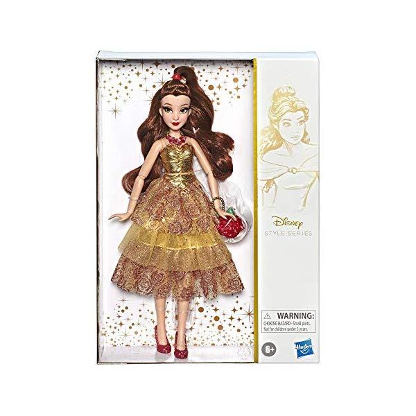 ディズニープリンセス ベル 美女と野獣 スタイルシリーズ コンテンポラリー ドール 人形 フィギュア グッズ おもちゃ Disney Princess Style Series, Belle Doll in Contemporary Style with Purse & Shoes