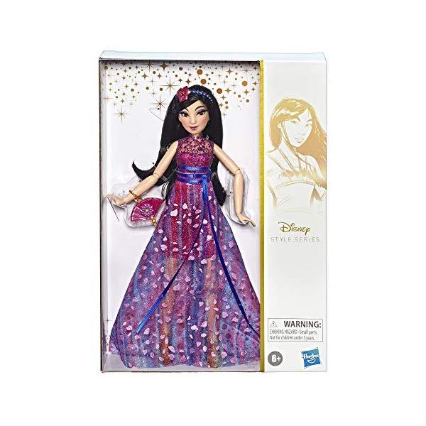ディズニープリンセス ムーラン スタイルシリーズ コンテンポラリー ドール 人形 フィギュア グッズ おもちゃ Disney Princess Style Series, Mulan Doll in Contemporary Style with Purse & Shoes