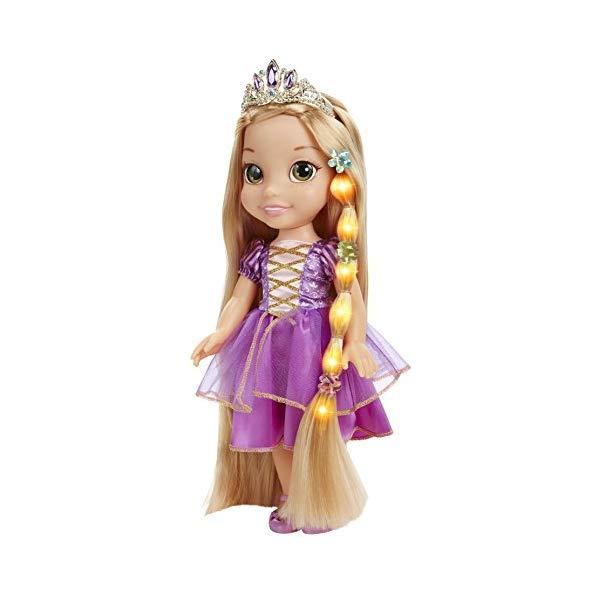 ディズニープリンセス ラプンツェル ドール 人形 フィギュア キッズ 子供 トドラー グッズ おもちゃ Disney Tangled Glow & Style Rapunzel Toddler Doll