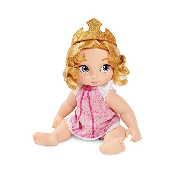 ディズニープリンセス オーロラ 眠れる森の美女 人形 フィギュア キッズ 子供 ベビードール グッズ おもちゃ Disney Animators' Collection Aurora Doll Origins Series
