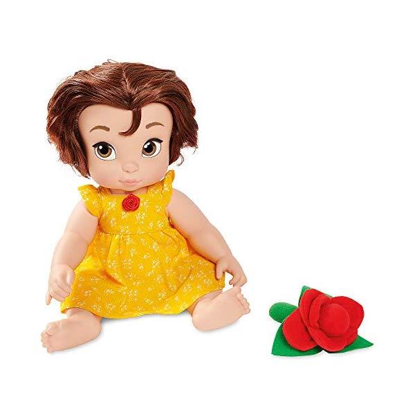 ディズニープリンセス ベル 美女と野獣 人形 フィギュア キッズ 子供 ベビードール グッズ おもちゃ Disney Animators' Collection Belle Doll Origins Series