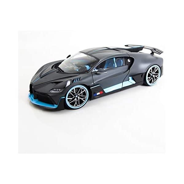 ブガッティ ディーヴォ ブラーゴ モデルカー ダイキャスト 模型 ミニカー グッズ 納車祝い オンライン限定商品 プレゼント インテリア スーパーカー Bugatti Divo Matt Model 18 Diecast 1 Car Blue by Gray セール 特集 with Bburago Accents 11045