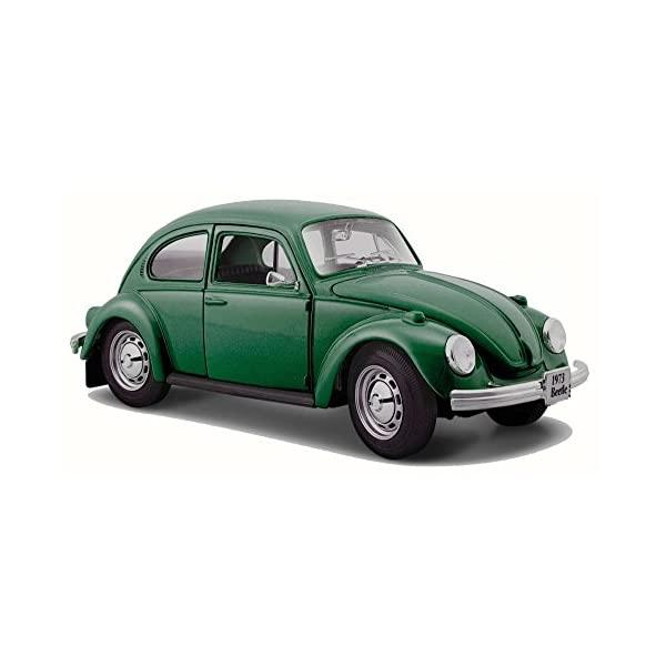 マイスト フォロクスワーゲン ビートル 限定品 モデルカー ダイキャスト 模型 ミニカー グッズ 納車祝い 国産品 プレゼント インテリア スーパーカー Volkswagen Green Toy Beetle - Scale 1973 Model 1 31926 24 Car Diecast Maisto