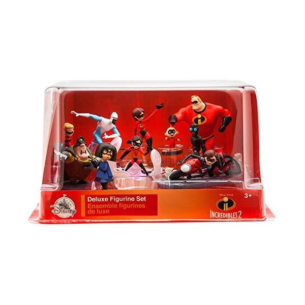 インクレディブル・ファミリー グッズ ミスターインクレディブル フィギュア 人形 おもちゃ Disney Pixar Incredibles 2 Deluxe Figure Set