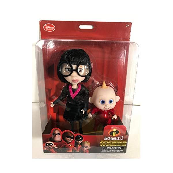 インクレディブル・ファミリー グッズ ミスターインクレディブル エドナ ジャック ジャック フィギュア 人形 おもちゃ Disney Pixar the incredibles 2 Edna Mode and Jack-Jack costumed Action Figures