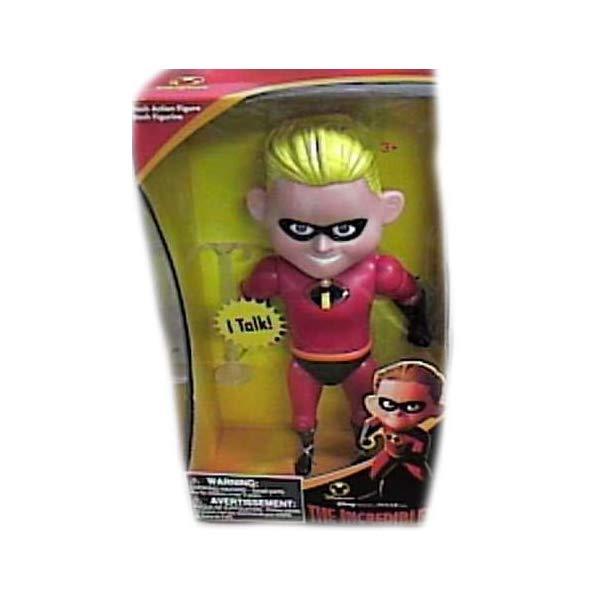 インクレディブル・ファミリー グッズ ミスターインクレディブル ダッシュ フィギュア 人形 おもちゃ Disney The Incredibles Talking Dash Action Figure