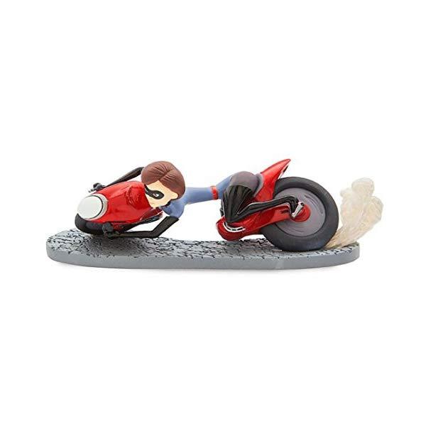 インクレディブル・ファミリー グッズ ミスターインクレディブル イラスティガール フィギュア 人形 おもちゃ Disney The Incredible 2 Elastigirl on Motorcycle 5