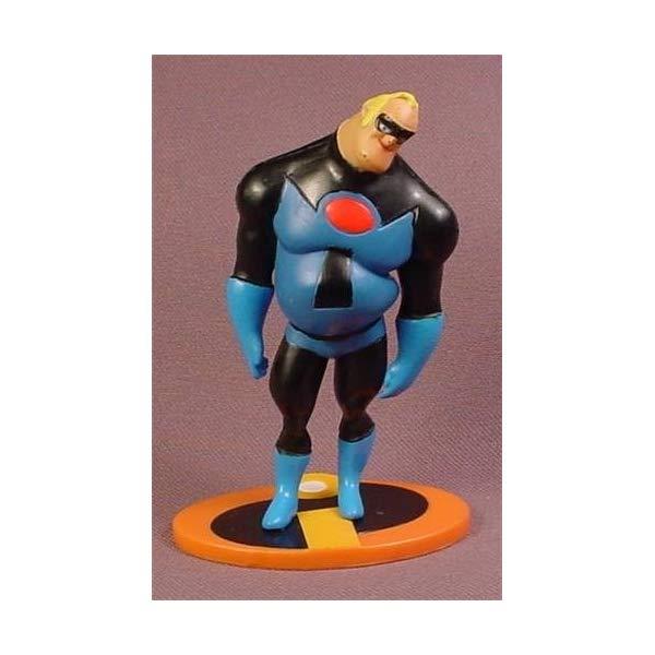 インクレディブル・ファミリー グッズ ミスターインクレディブル フィギュア 人形 おもちゃ Disney The Incredibles Mr Incredible In Blue & Black 4